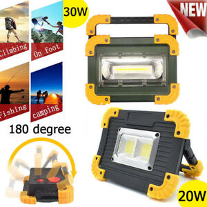 Waterproof-30W-Portable-COB-LED-Work-Light-USB-Rechargeable-Outdoor-Camping-Lamp