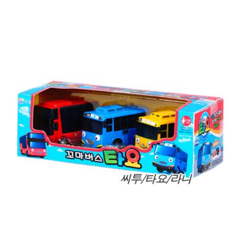 Tayo The Little Bus Parking Lot Toy Play Set /& Tayo Bus Set Tayo, Rani, Cito