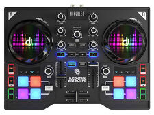 HERCULES INSTINCT P8 PARTY PACK - TWIN DECK USB DJ CONTROLLER - Authorized DLR
