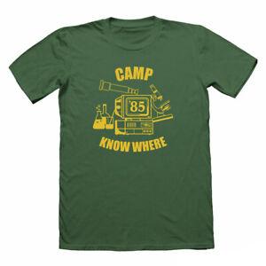 Camp-de-savoir-ou-T-shirt-des-choses-bizarres-Nerd-T-shirt-Geek-Tshirts-drole-TEE
