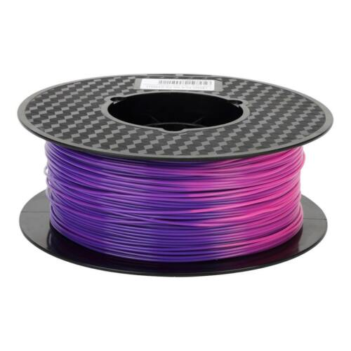 3D Printer PLA Filament Color Changing Temperature From Purple Blue to Pink 1KG