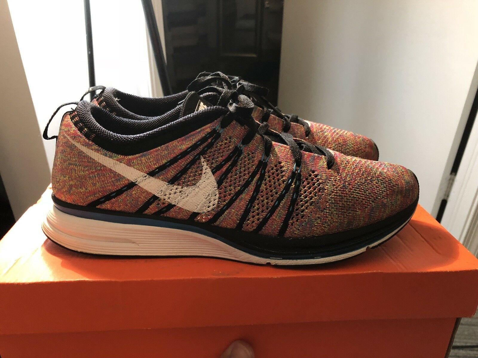 Nike Flynit Trainer Multicolor Size 9.5  with original box