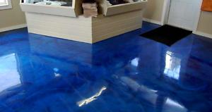 Low Viscosity Ultra Clear Epoxy Resin: 1Kg Kit + Ocean Blue Metallic Pigments