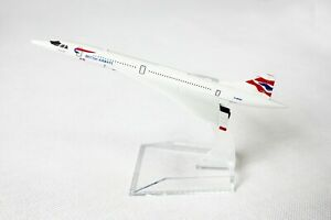 BRITISH-CONCORDE-ONE-WORLD-DIECAST-AIRCRAFT-PLANE-MODEL-15cm-1-400
