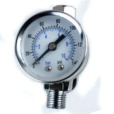 """ScratchDoctor Mini Air Regulator Spray Paint Gun Dial Gauge 1/4"""" HVLP Compressor"""