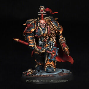 Warhammer-40k-Painted-Chaos-Lord-Chaos-Space-Marines-TOP-painting