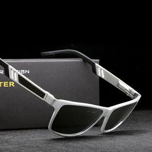 211f8e2747 Image is loading Men-039-s-Aluminium-Polarized-Colored-Sunglasses-Outdoor-