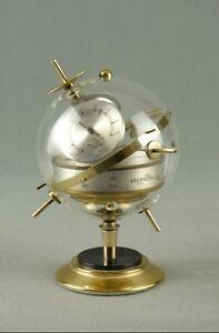Vintage-Sputnik-Weather-Station-Barometer-Thermometer-Art-Deco-Germany-50s-60s