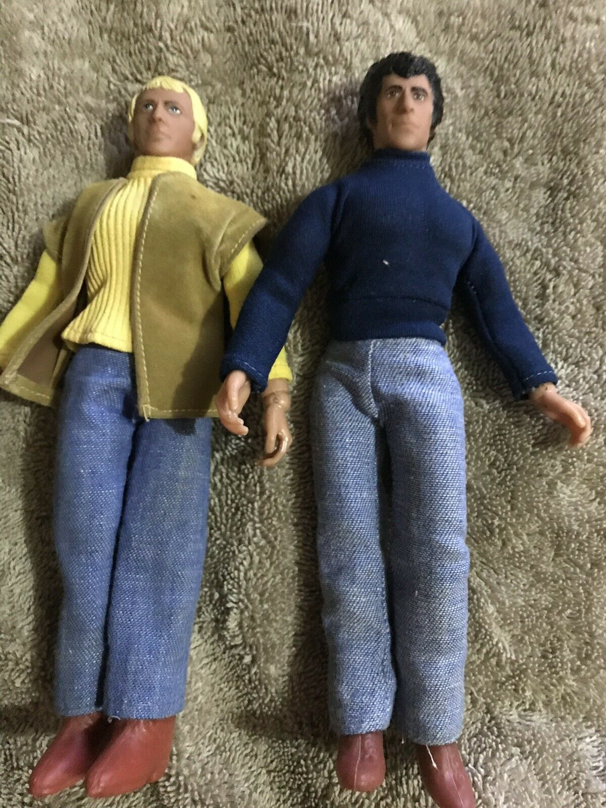 Vintage Mego Starsky and Hutch 8  Action Figure Dolls Clothes shoes