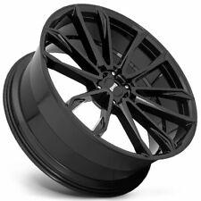 4ea 24 Dub Wheels Clout S253 Gloss Black Rimss46 Fits Nissan Armada