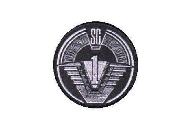 Stargate SG1 ecusson équipe SG1 2nd version avec scratch stargate SG1 patch 10cm
