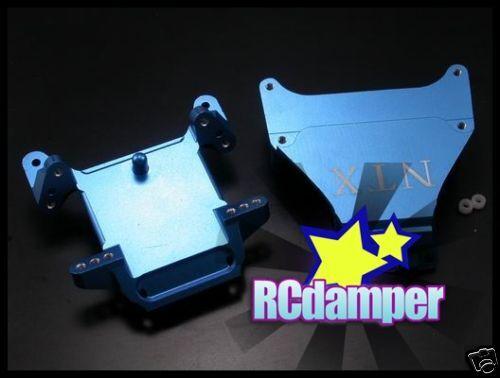 ALUMINUM UPPER CAP & LOWER BRACE B FOR TEAM LOSI SPEED-NT SNT