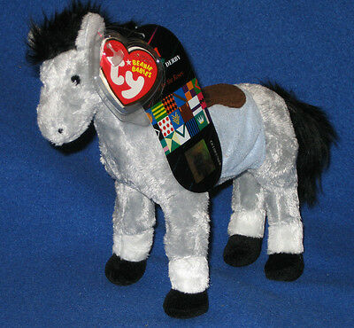 KENTUCKY DERBY EXCLUSIVE w//extra TAG TY BARBARO the HORSE BEANIE BABY