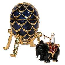 Copie Oeuf Faberge Pomme de Pin Oeuf boîte à secret ou bijoux après oeuf Faberge