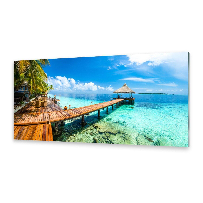Acrylglasbilder Wandbild aus Plexiglas® Bild Tropisches Paradies