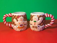 House Of LLoyd 2000 Gingerbread Mugs With Box New Christmas Around The World