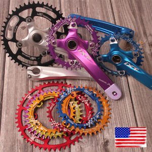 30-52T-Crankset-Crank-104mm-Narrow-Wide-Single-MTB-Bike-Chainring-Sprocket-Chain