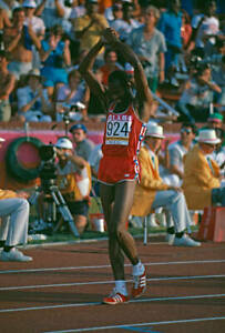 OLD SPORTS PHOTO OLYMPICS American Athlete Edwin Moses ...