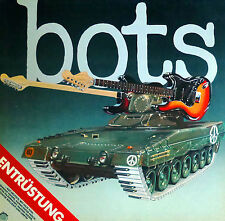 "Bots - Entrüstung - 12"" LP - washed & cleaned - C389"