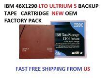 Sony LTX1500G LTO 5 Ultrium 1.5//3.0 TB Tape Data Backup Cartridge Lightly Used