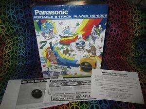 Panasonic 8 track player TNT RQ-830S Tune-up Restoration Kit