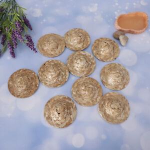 10Pcs-Hand-Knitting-Straw-Doll-Hat-Ornament-Strawhat-DIY-For-Salon-Craft-1