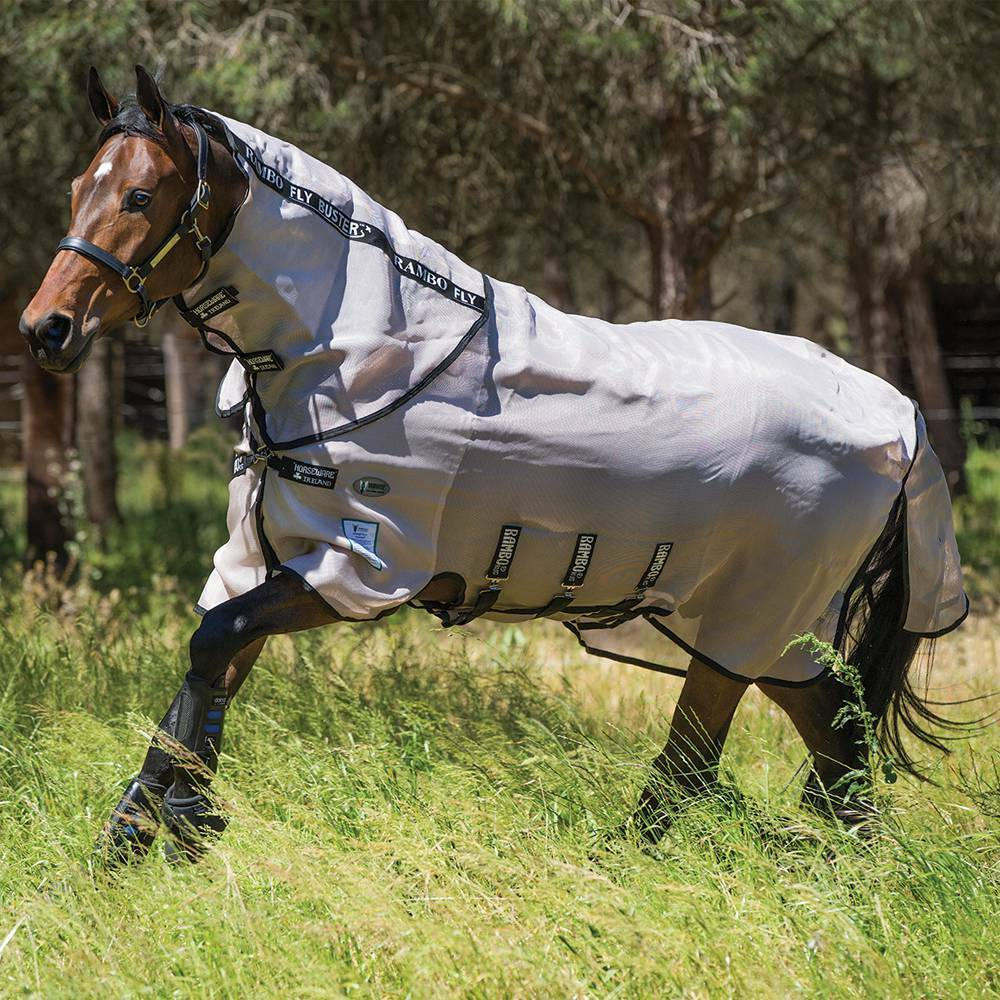 Rambo Flybuster Vamoose Fly Rug Fly Sheet Dual Effectiveness ALL SIZES