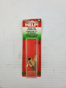 "Help! 55107 Brass Tee Connector Dorman 55107 5/16"" 7,93 MM 5/16 PO Underhood"