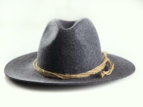 Almbock trachtenhut señores antracita Trachten sombrero-todos tamaños