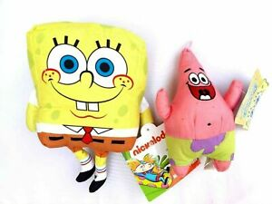Spongebob-Patrick-Stuffed-Plush-Doll-Giocattolo-Regalo-Bambini-Ragazzi-Ragazza-Sponge-Bob-Ufficiale