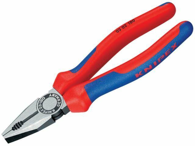 Knipex - Pinza combinata impugnatura multi-componente 180mm (7in)