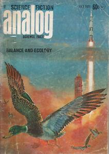 Analog-Science-Fiction-Magazine-July-1971-Gordon-R-Dickson-James-Schmitz-More