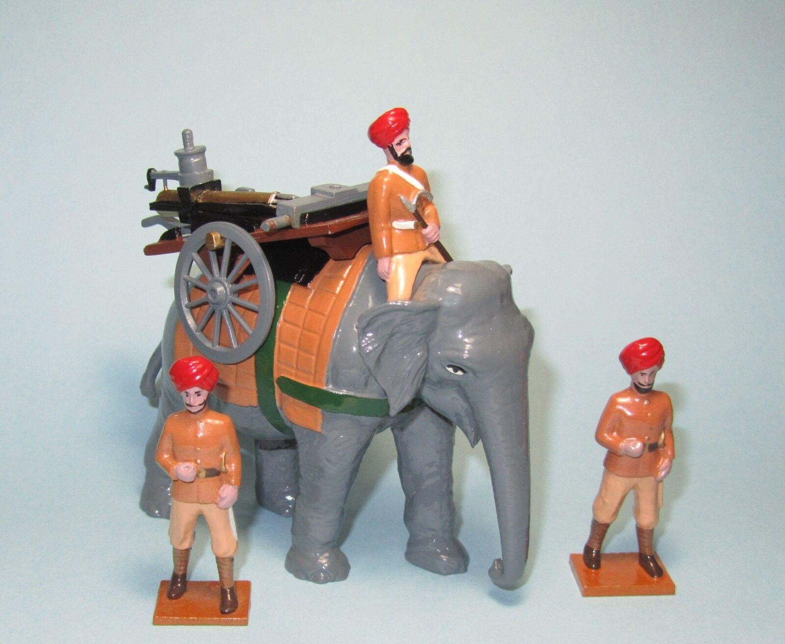 Trophy Miniatures of Wales  Elephant & Gun