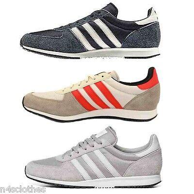 énorme réduction 53281 e5385 Adidas Mens Adistar Racer Shoes Trainers Blue / Silver / Red Size 4 - 6.5 |  eBay