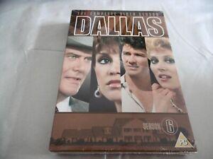 Neu-Dallas-die-Komplette-Sechste-Staffel-DVD-Box-Set-Serie-6-Cert-Pg-Pal-Reg-2