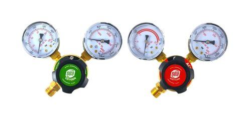 SÜA Oxygen and Acetylene Regulators Welding Gas Gauges LDP Rear Entry