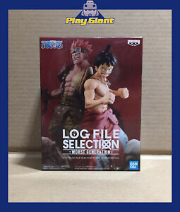 One Piece Log File Selection Worst Generation Vol.1 Monkey D. Luffy Figure NEW