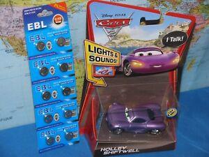 DISNEY PIXAR CARS 2 TALKING HOLLEY SHIFTWELL LIGHTS & SOUNDS *BRAND NEW & RARE*