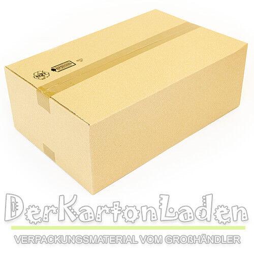 80 neue Faltkarton 520x330x180mm VersandKartons