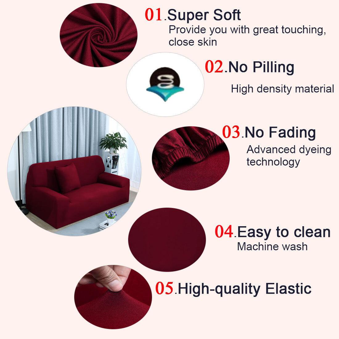 Incredible Details Over 2018 Hot L Shape Stretch Elastic Fabric Sofa Cover Sectional Corner Couch Covers Inzonedesignstudio Interior Chair Design Inzonedesignstudiocom