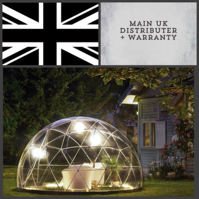 Geodesic Garden, Pub , Dome Canopy Patio Outdoor Gazebo Igloo PVC  Weatherproof