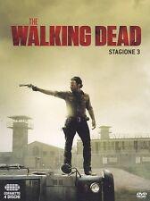 THE WALKING DEAD STAGIONE 3 (4 Dvd)- COFANETTO UNICO, NUOVO, ITALIANO