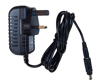 REPLACEMENT POWER SUPPLY FOR THE YAMAHA PSR-E203 KEYBOARD ADAPTER UK 12V
