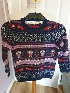 Boys Designer Fat Face Knitted Jumper