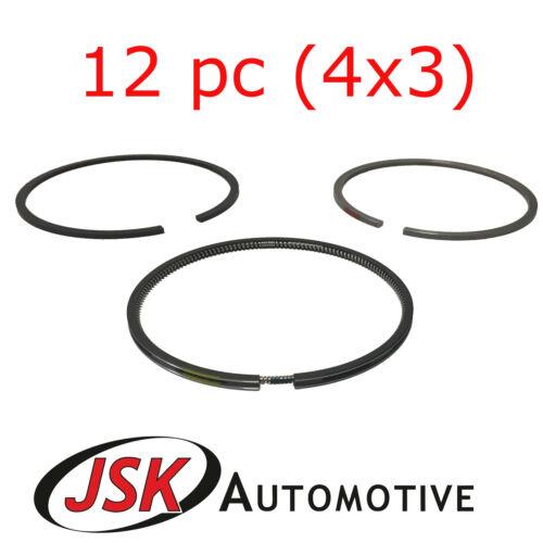 3CX Piston Ring Set 103mm 12pc JCB 444 2CX 5CX JS130 JS145 JS160 JS180 4CX