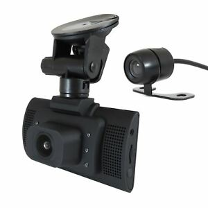 Pama-HD-Front-amp-Rear-Twin-Camera-Dash-Cam-Accident-Video-Recorder-G-Sensor-IR
