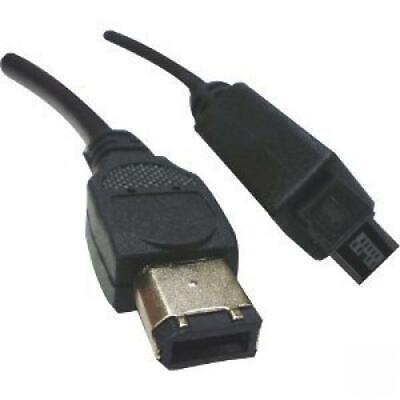 9 PIN// 6PIN Bilingual FireWire 800 3Feet FireWire 400 Cable Clear
