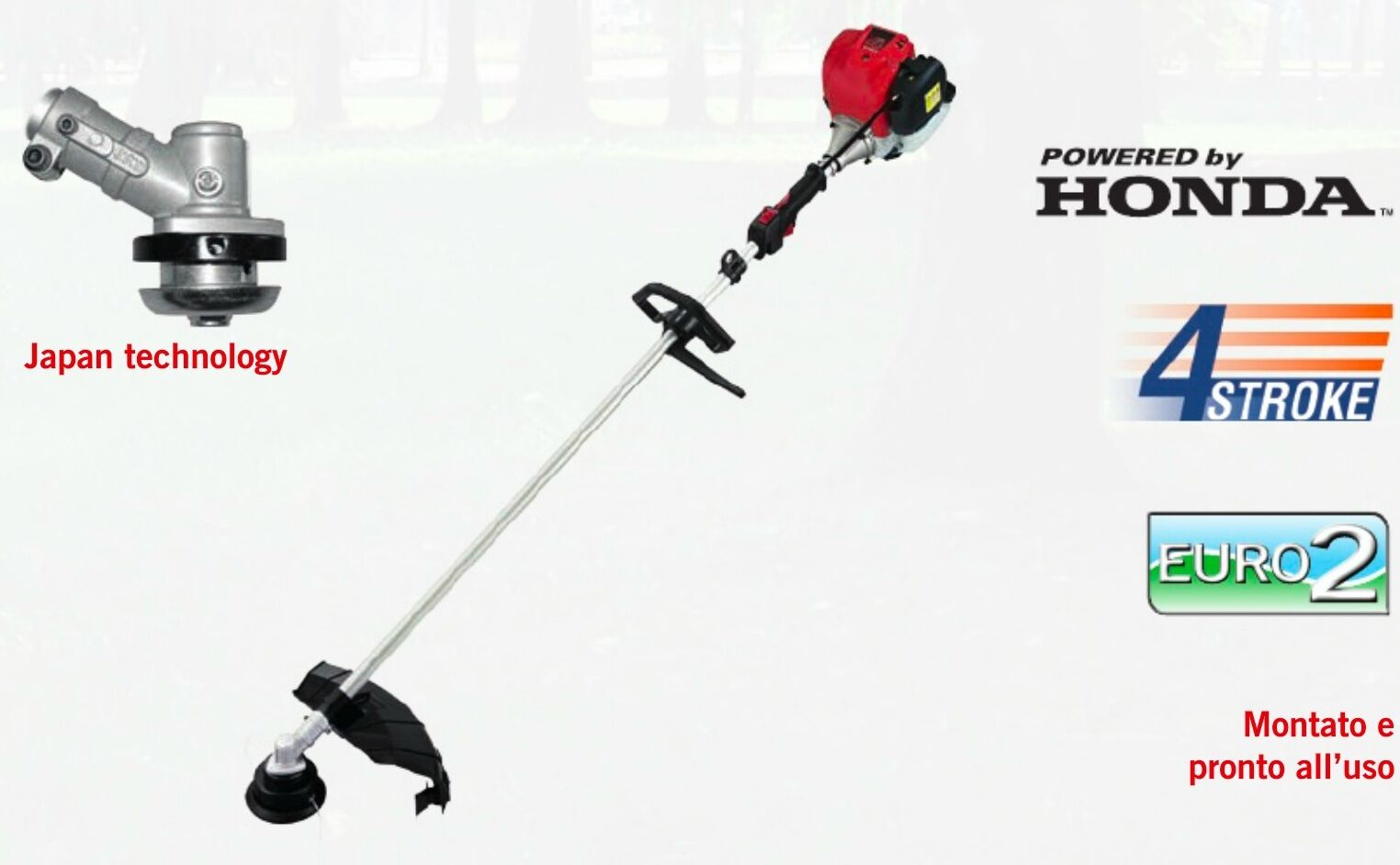 Freischneider Blast HONDA 25,8cc + Stange Professional 26 + Zubehör