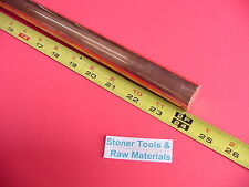 1 C110 Copper Round Rod 24 Long H04 Solid 100 Od Cu New Lathe Bar Stock