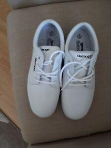 Slazenger Bowls Shoes - White - Ladies